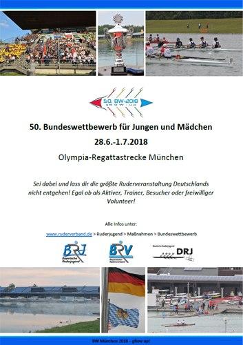 Bundeswettbewerb_München_2018_Logo, Flyer